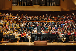 Community of Music Makers choral workshop led by Symphony Chorus Director Ragnar Bohlin
